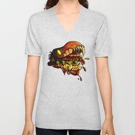 Burgermonster Unisex V-Neck