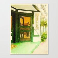 The Coffee Shop Canvas Print