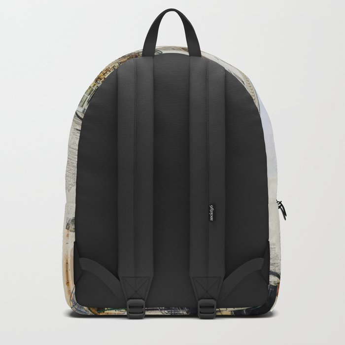 Trapani art 1 Backpack