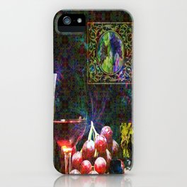 """""""More Wine"""" by surrealpete iPhone Case"""