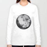 titan Long Sleeve T-shirts featuring Titan #4 by Tobias Bowman
