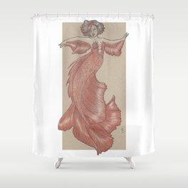 Dancing Mermaid Shower Curtain