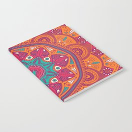 Colorful Mandala Pattern 017 Notebook
