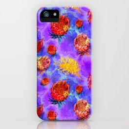 Colourful Australian Native Floral Print iPhone Case