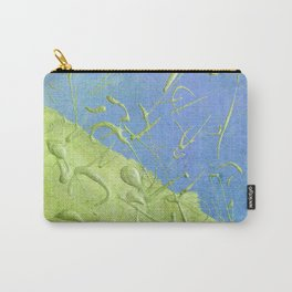 Peridot Rain Carry-All Pouch