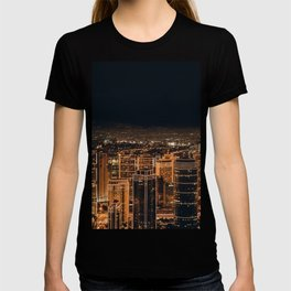 Somewhere in China – City by night T-shirt