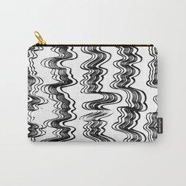 Wavy stripe set pattern Carry-All Pouch