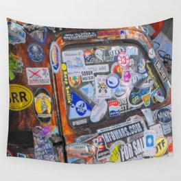 Stickers Wall Tapestry