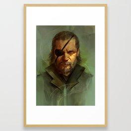 Big Boss Framed Art Print