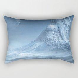 Travel On Fantasy Planet Rectangular Pillow