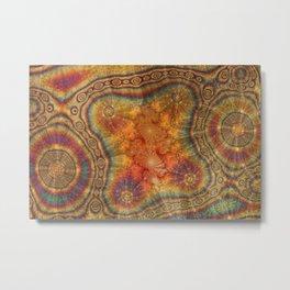 Oily Julia Metal Print