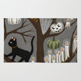 halloween tree Rug