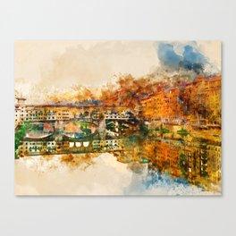 Florence, Ponte Vecchio Canvas Print