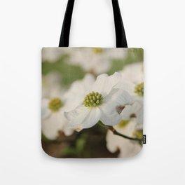 Dogwood Blossoms Tote Bag