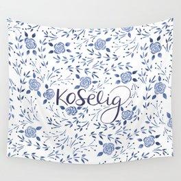 Koselig - Blue Wall Tapestry