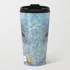 Slipping Koi Metal Travel Mug