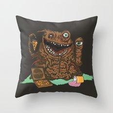 Terror Vision Throw Pillow