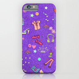 girls Life, lilac iPhone Case