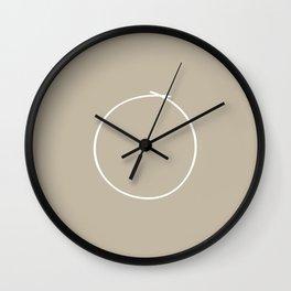 Metal - Minimal FS - by Friztin Wall Clock