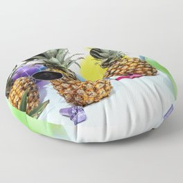 Pineapple Party Time Floor Pillow