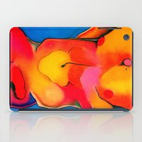 nudes iPad Cases featuring Nudes: Atlas II by Adam James David Anderson