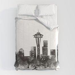 Seattle Skyline Comforters