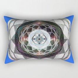 Resonance and Centering Meditation Mandala Rectangular Pillow