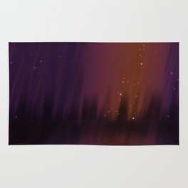 Purple Theater Rug
