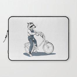 Raccoon bike Laptop Sleeve