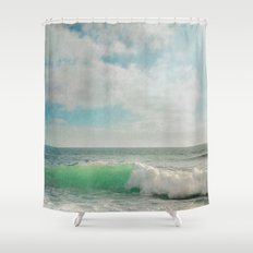 The Painted Sea Shower Curtain