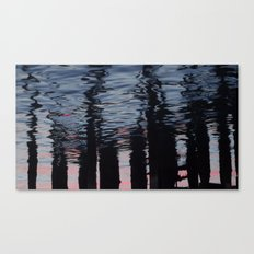 The Darkness seeps in Canvas Print