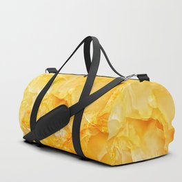 Yellow onyx marble Duffle Bag