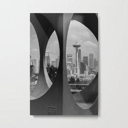 Changing Form Metal Print