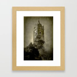 Tower On The Hill Framed Art Print