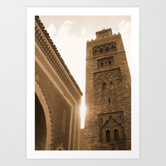 Moroccan Sky Art Print