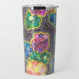 Flower Frenzy Travel Mug
