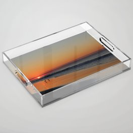 The Rising Sun Acrylic Tray