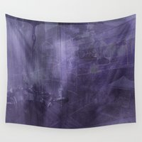 psychology Wall Tapestries featuring Ecphory by Art by Mel