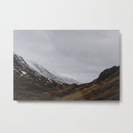 Glencoe, Scotland Metal Print
