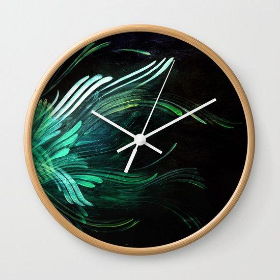 Malachite Wall Clock