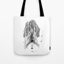 Wild Rabbit Tote Bag