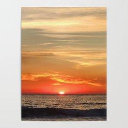 sun saying goodbye Poster