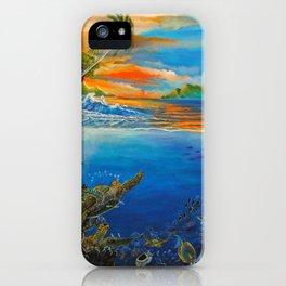Palauan Waters iPhone Case