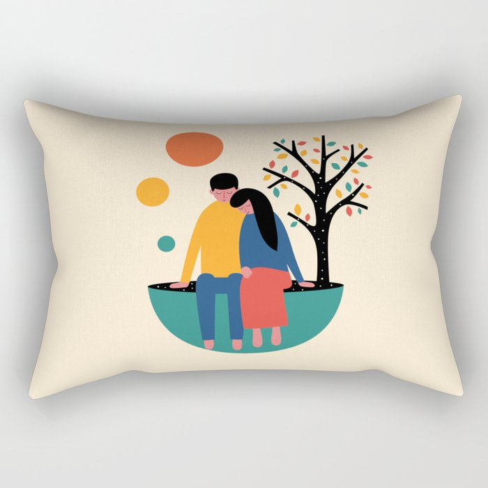 Always and forever Rectangular Pillow