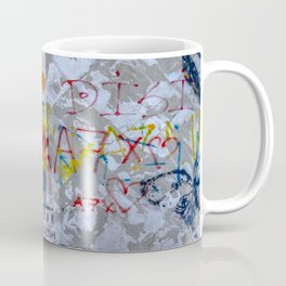 Graffiti on Concrete Coffee Mug