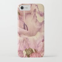 shabby chic iPhone & iPod Cases featuring Shabby chic gladioli by Shalisa Photography