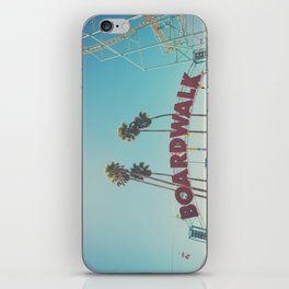 Santa Cruz boardwalk ... iPhone Skin