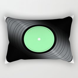 Music Record Rectangular Pillow