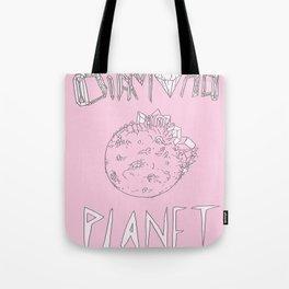 Diamond Planet Tote Bag