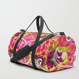 tropical bloom Duffle Bag